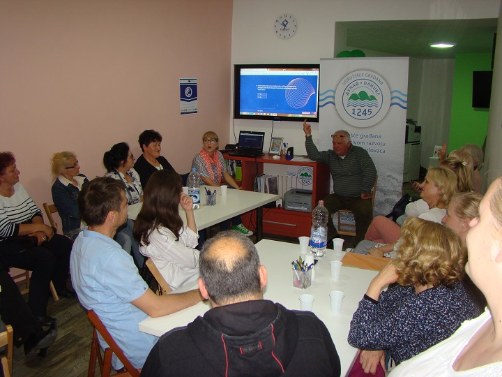 "PROJECT ACTIVITY IN THE PROJECT ""EUROPE IS COOL"" IN SREMSKI KARLOVCI"