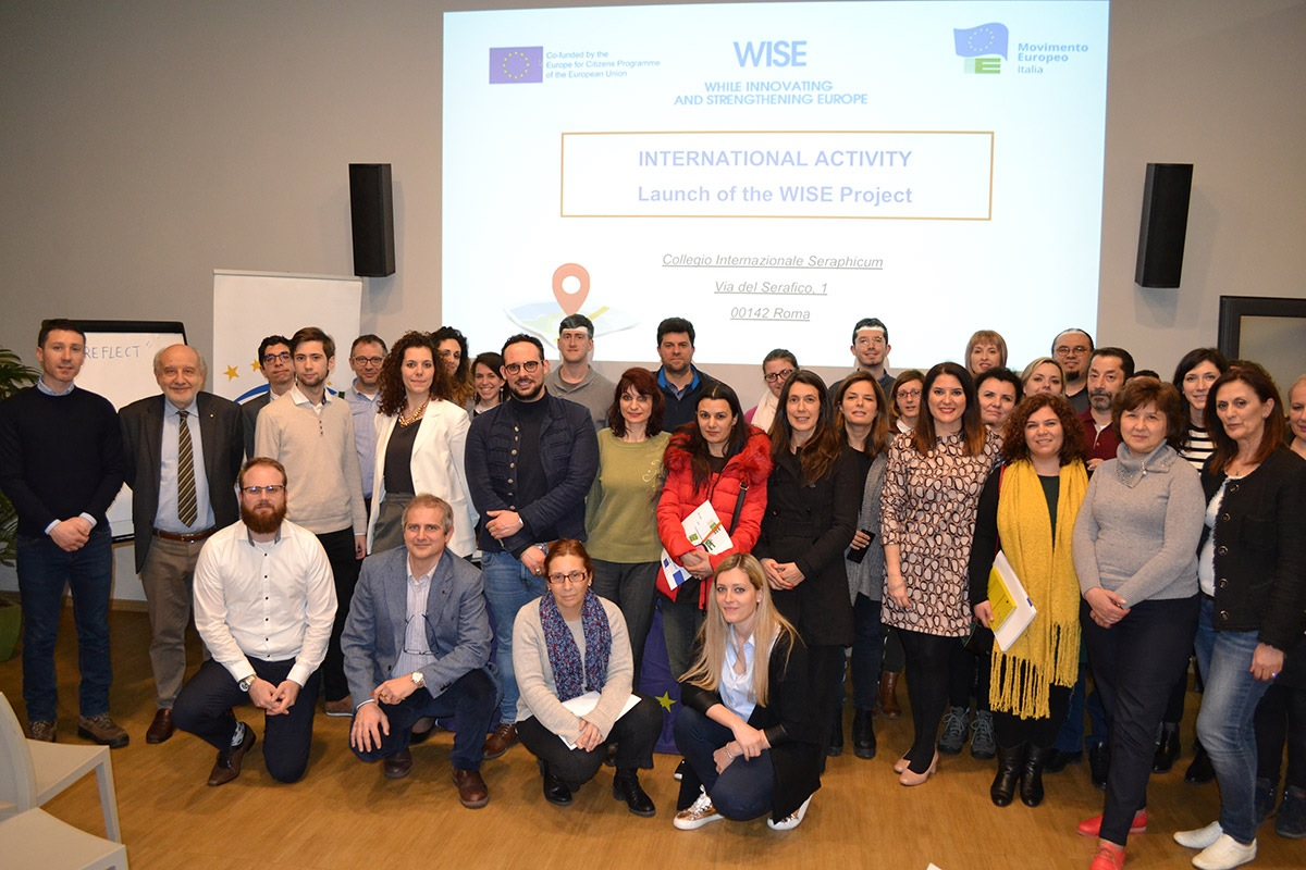 THE OFFICIAL OPENING OF THE PROJECT 'WISE'