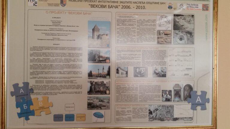 """Organizacija interaktivne diskusije """"Kulturno nasleđe Bača – moj doprinos"""""""